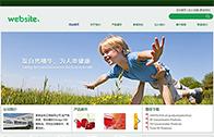 环保企业网站模板